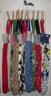 PLASTIC GROCERY BAG RAG SOCK HOLDER 21 X 26 MOO COWS DAIRY JERSEY