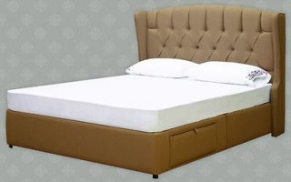 FREE Fabric Samples   Platform Bed, King, Queen, Full, Storage Bed