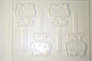 HELLO KITTY CHOCOLATE CANDY MOLD MOLDS PARTY FAVOR SOAP