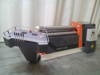 ROLL PLATE BENDING SHEET METAL MACHINE PLATE BENDER ROLL SLIP