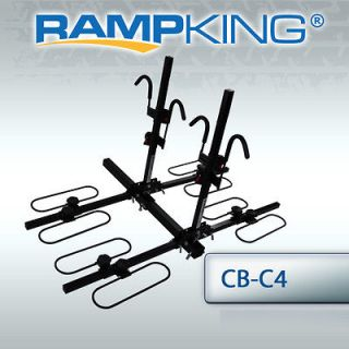 Newly listed RAMP KING 4 BIKE WHEEL CRADLE HITCH CARRIER BICYCLE RACK