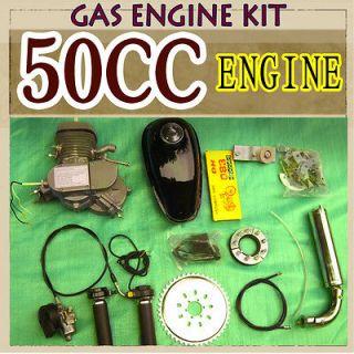 Stroke 50CC E Bike 49 Engine Kit GAS Motor Motorized power cyclingr