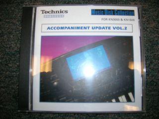 Technics Keyboard Software Accompaniment Update Vol. 2
