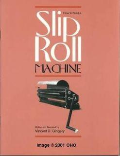 sheet metal rolling machine