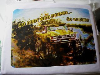 Mud Truck T shirt 4x4 bogger lifted mudder 3XLARGE chevy lifted
