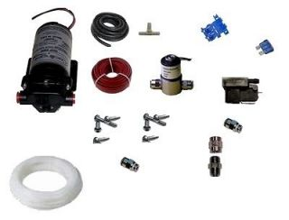 200 psi DIESEL water methanol injection kit with solenoid and super