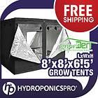 GrowDen 8x8 Den Hydroponics Grow Tent Indoor Greenhouse Box Room