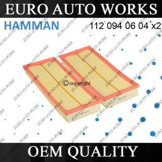 MERCEDES BENZ HAMMAN OEM QUALITY AIR FILTER (SET OF 2) (Fits C300