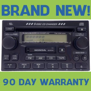 Odyssey 6 Disc Changer CD Tape Player Radio Stereo (Fits Honda 2003