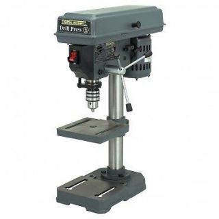 New 5 Speed 8 Bench Top Drill Press Table Tilts 45 Degrees 1/2 chuck