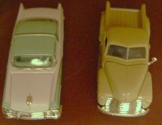 Racing Champions Die Cast 1956 Ford Victoria and 1950 Chevy Pickup