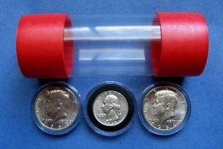 Tite Airtite Coin Holders Model T Silver Half Dollar Quarter Rds
