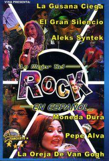 Lo Mejor del Rock en Español (DVD) New **Low S&H**