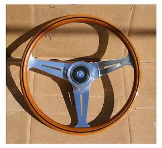 Vintage Mahogany Nardi Steering Wheel BMW 390mm 1600 2002 Tii E3 E9