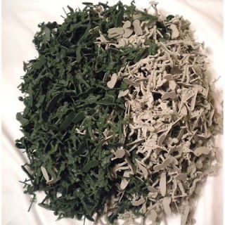 1000 Army Men Toy Soldiers. 2 Inches Tall. Green & Gray Colors