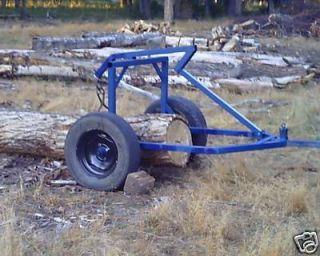 ATV Log Arch/ Log Skidder plans