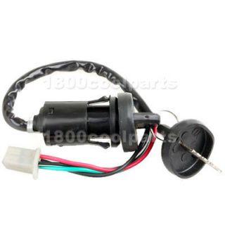 ATV Quad 4 Wheeler Dirt Bike Ignition Key Switch 4 Wires TaoTao Sunl