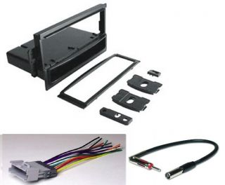 General Motors Radio Installation Dash Kit + Harness + Antenna PKG196