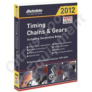 Newly listed Autodata 12 170 2012 Timing Chains & Gears Manual 1997