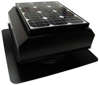 Solar Powered Attic Fan, AB 252A Attic Breeze, 25 Watt