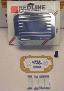 Weber Carburetor chrome air filter assembly kit clips