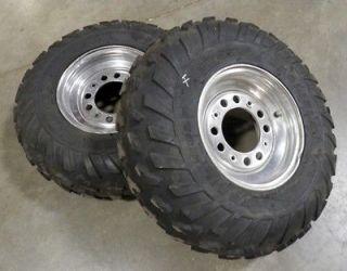 Kawasaki KFX 700 KFX700 ATV Front Wheels Tires V Force