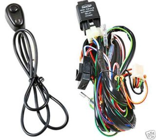 UNIVERSAL FOG LIGHTS LIGHT LIGHTING WIRING WIRE HARNESS KIT H3 W/RELAY