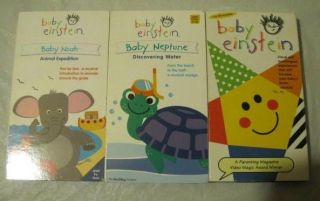 baby einstein vhs lot in VHS Tapes