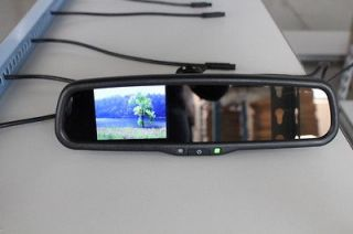 Backup camera display system 3.5+ rear view mirror,fits Ford,Nissan