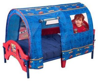 Disney Pixar Cars Tent Toddler Bed Childrens Kids Steel Frame