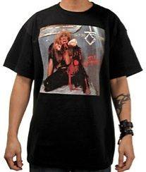 New Authentic Twisted Sister Stay Hungry Adult T Shirt Size Large