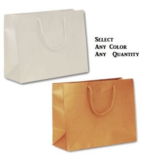 PAPER GIFT BAGS LARGE SHOPPING BAGS~WHOLESALE BAGS WEDDING GIFT BAGS