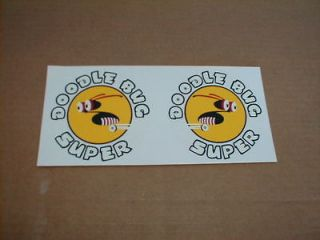 Doodlebug Super Motorized Scooter Bicycle Decals