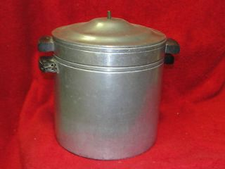 vintage maid of honor baby bottle sterilizer   strainer pot
