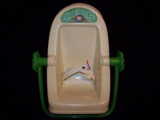 Patch Kids Car Seat 1983 vintage toy doll baby carrier by Coleco