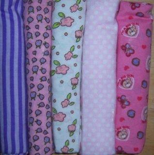 Snugly Baby Girls Single Receiving Blanket, Baby Shower, Diaper Cake