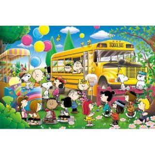 Apollo sha Jigsaw Puzzle 10 827 Peanuts Snoopy School Bus (1000 Pieces