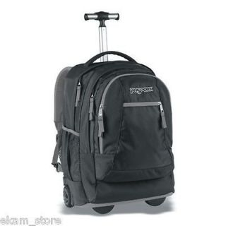 NEW JanSport DRIVER 8 Rolling Wheeled Backpack School Book Bag wheels