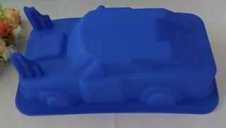 1PCS Car mold silicone mold cake mold cake tools baking tools