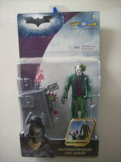 THE DARK KNIGHT BATMAN HEATH LEDGER DESTRUCTO CASE THE JOKER FIGURE