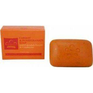 Nubian Heritage Carrot & Pomegranate Bar Soap 5 0z