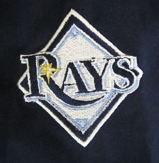 NIKE TAMPA BAY RAYS Pullover Jacket Mens Size Medium Major League
