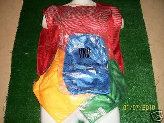 New Adult Mesh Short Cut Basketball Soccer Scrimmage Practice Vest