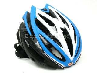 CLOSEOUT HELMET Bell Volt Matte Blue / Black   Road Bike Helmet