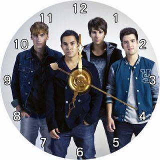 BRAND NEW Awesome Big Time Rush Band CD Clock