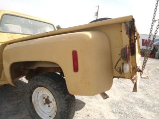 1973 87 CHEVY GMC PICK UP TRUCK SHORT BED,STEP SIDE BOX