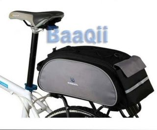 Multi Cycling Bike Travel Bicycle Rear Seat Rack Pannier shoulder Bag