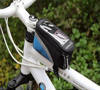 2012 Cycling Bicycle bike Front tube Trame Bag for IPhone 4 iphone 4S