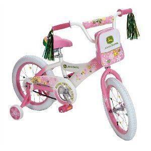 16 Children Kids Girls Bicycle Bike with Training Wheels   Pink NEW