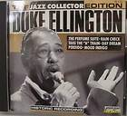 ELLINGTON Jazz Collector Edition 1989 CD Big Band Jazz Record 9 Tracks